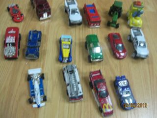Vintage Matchbox and Hot Wheels Vehcles Cars Lot of 16 McDonalds