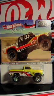 Hot Wheels Racing 2012 Offroad 83 Chevy Silverado 4x4 New