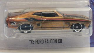 2013 Hot Wheels Super Treasure Hunt 73 Ford Falcon XB C Case USA