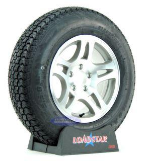 Loadstar K550 St 205 75D15 Aluminum Rims 15 Wheels 5 Bolt