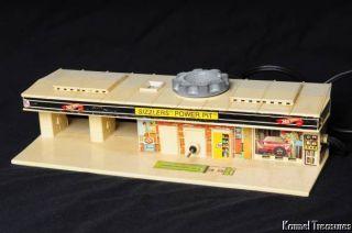 Sizzlers Power Pit Hot Wheels Charging Station Vintage Mattel