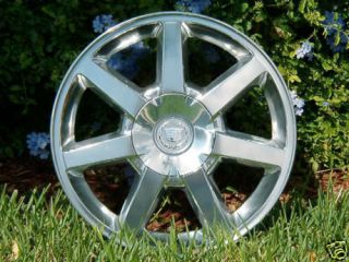 2005 to 2011 New Polished Cadillac STS cts 17 inch GM Style Wheel 4578