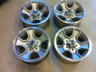 83 88 Chevy Monte Carlo SS Wheels 4 15x7 5 4 75 Bolt Pattern Camaro