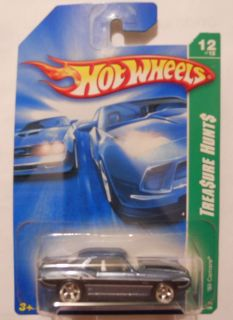 Hot Wheels Super Treasure Hunt 69 Camaro Real Rider Tires