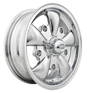 Empi GT 5 Rim 5 5 x 15 Chrome Wheel VW Bug Type 1 2 3