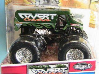 Hot Wheels Monster Jam Truck Covert Crasher 24 80 Originals Tattoo