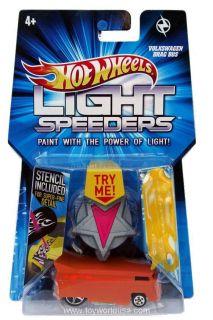 2012 Hot Wheels Light Speeders Volkswagen Drag Bus