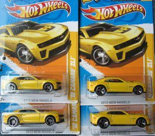Kroger Exclusive Hot Wheels 2012 Yellow Camaro ZL1