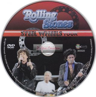 Rolling Stones Steel Wheels Tour DVD Brand New