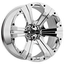 22 inch Ballistic Outlaw Chrome Wheels Rims 8x6 5 8x165 1 12 Hummer H2