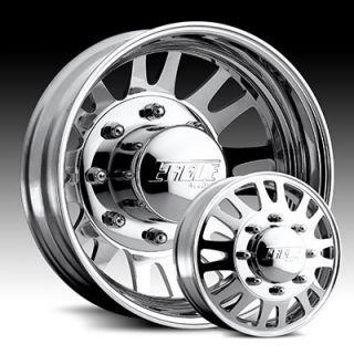 19 5 x6 Eagle 0569 Polished Wheels Rims 8 Lug Dually