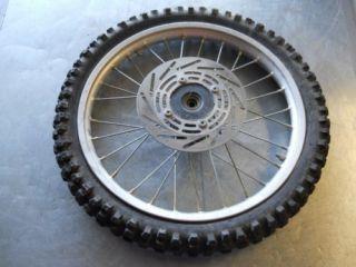 1993 93 Honda CR80 CR 80 Front Wheel Hub Brake Rim