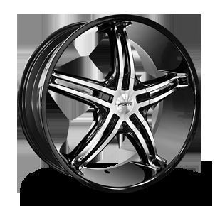 20x8 5 New Forte F56 Rims Wheels Fits Most 5 6 Lug Car SUV Truck