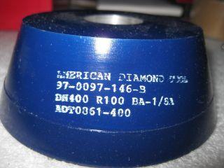 Diamond 11V9 Flaring Cup Grinding Wheel 400 Grit New