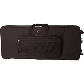 Gator GK 76 76 Note Lightweight Keyboard Case w Wheels Open Box