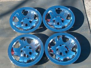Jeep Wrangler Cherokee Wheels Chrome 15 4 New 93 06