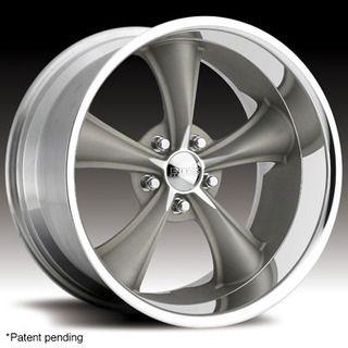 Boss Wheels Rims Gray 18x8 Style 338 5x4 75