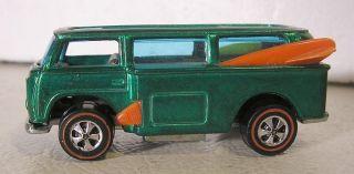 Vintage Redline Hot Wheels Volkswagen Beach Bomb Green