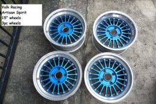Engineering Artisan Spirit 15 Rims Wheels SSR AE86 TA22 4A
