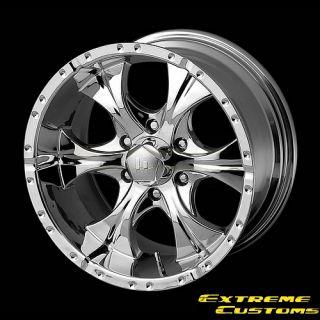 20 x10 Helo HE791 Maxx Chrome 5 6 Lugs Wheels Rims Free Lugs