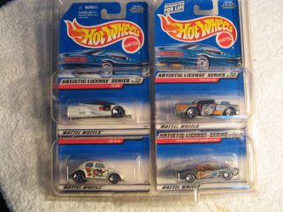 1998 HW Hotwheels Artistic License Series 4 Car with 4way Protector VW