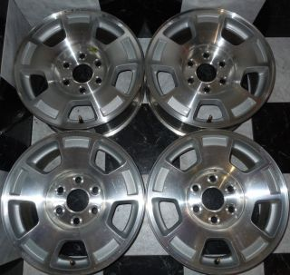 1500 Tahoe 17 Factory OEM Wheels Suburban Express 6 lug 88 and up K 3
