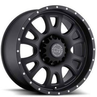 Black Rhino Lucerne 17x9 8x165 ET12 Black Wheels 1 Rim S