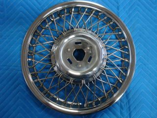 Cutlass Ciera 14 Wheel Wire Wheel Cover Hub Cap FWD 1990 91