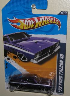 Hot Wheels ★ Muscle Mania Ford ★ 73 Ford Falcon XB ★ 2012