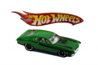 2012 Hot Wheels 117 Muscle Mania Ford 1972 Ford Gran Torino Sport