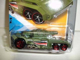 2012 Hot Wheels Invader HW Code Cars 243 Case K