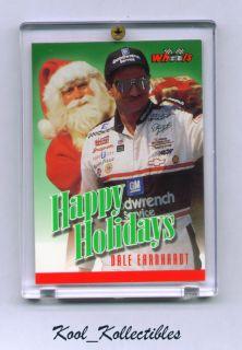 RARE Dale Earnhardt 96 Wheels Happy Holidays Insert