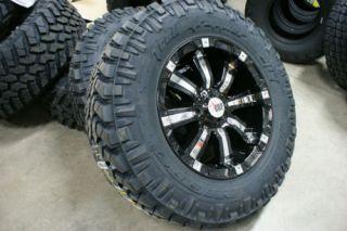 20 inch Black 94 RBP Chevy GMC 1500 Rims Wheels 6x5 5