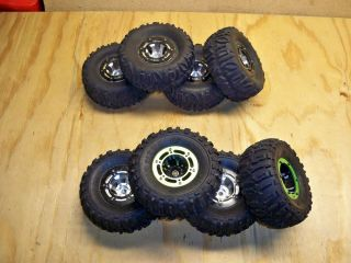 RC Rock Crawler Beadlock Wheels and Tires Losi Panther Axial HPI Berg