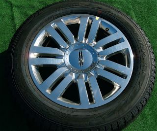 Lincoln Navigator Chrome 20 inch Wheels with Brand New Tires