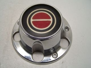 Bronco Wheel Center Cap Chrome Alloy Red Center 92 93 94 95 96
