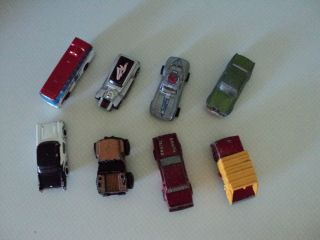 Lot of 8 Vintage Hot Wheels Matchbox Cars and Other See Below