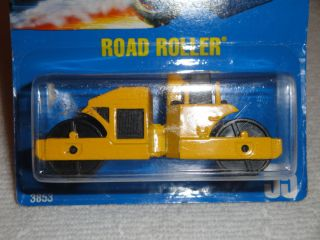 Hot Wheels Blue Cards Road Roller Collector No 55