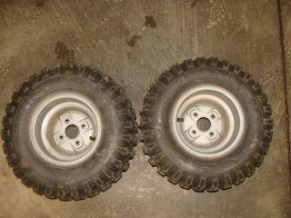 90 Fourtrax 98 99 01 02 8 ATV Rear Wheels Rims Tires ITP EX