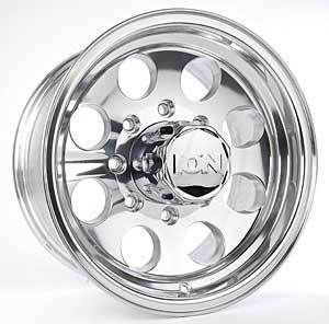 16 ion 171 Polished Wheels Rims 8x170 8 Lug Ford Truck
