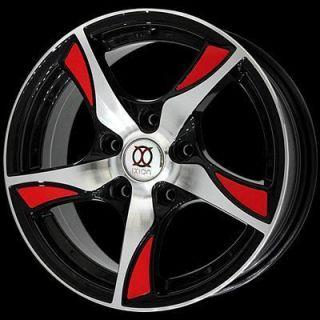 Wheels IX003 17x7 5x105 Fits Chevrolet Cruze and Sonic Set of 4 Wheels