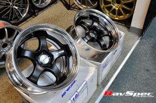 S1R 18x9 0 to 18x10 5 Custom JDM Wheels for Subaru WRX BRZ STI