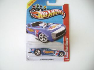 Hot Wheels 2013 Nitro Doorslammer HW Racing B Case 103 250