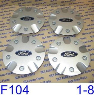 Ford Focus Silver Center Cap New Factory 5 3 4 Diameter F104 3Z Qty