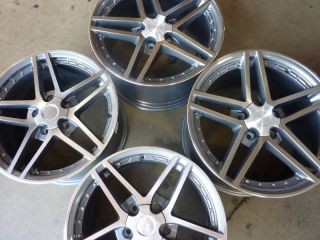 19x9 5 20x11 Corvette C5 C6 Wheel Rim Set
