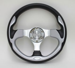 14 Pursuit Performance Vinyl Style Steering Wheel Set for Boats and