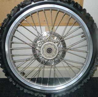 450 125 450f 250f Excel Front Wheel Rim Hub 21 97 98 99 00 01