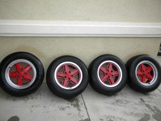 Ronal R 9 15x7 alloy wheels Mercedes r107 w116 w123 w126 VW Vanagon