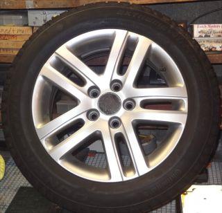 2010 VW Jetta 16 Alloy Wheel Rim and Snow Tires 205 55 R16