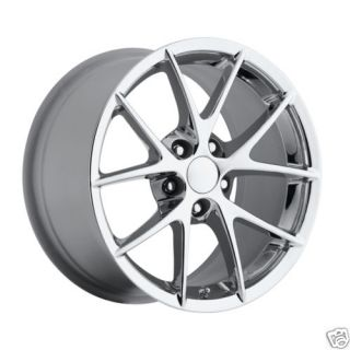 2009 C6 Z06 Spyder Chrome ZO6 Chevy Corvette Spider Wheels Rims